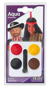 "AQUA Schminkset ""Cowboy & Indianer"" 10g bunt"