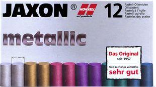 "JAXON Ölpastellkreide ""Metallic"" 6 Stück mehrere Farben"