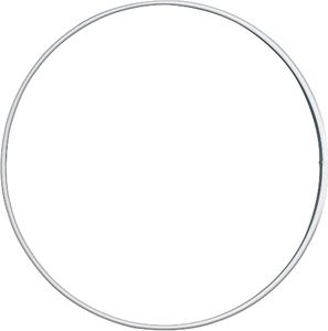 KNORR PRANDELL Drahtring Ø 15 cm weiß