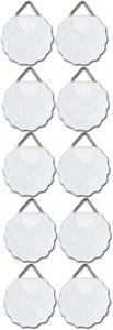 KNORR PRANDELL Bilder- Aufhänger 10 Stück selbstklebend weiß