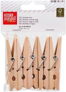 KNORR PRANDELL Holzklammern 72 x 8 mm 10 Stück