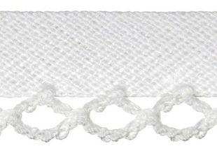 HOTEX Schrägband 12 mm weiß