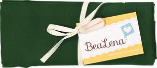"BEALENA Baumwollstoff ""Uni"" 50 x 70 cm dunkelgrün"