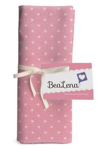"HOTEX Baumwollstoff ""Punkte"" 50 x 70 cm rosa"