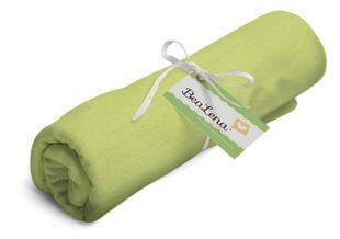 """HOTEX Jerseystoff aus Baumwolle """"Uni"""" 80 x 100 cm hellgrün"""