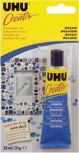 """UHU Bastelkleber """"Creativ"""" für Mosaik 33 ml"""
