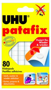 "UHU Klebepads ""Patafix"" 80 Stück weiß"