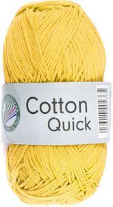 """GRÜNDL Strickgarn """"Cotton Quick"""" 50g gelb"""