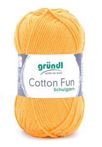 """GRÜNDL Garn """"Cotton Fun"""" 50g maisgelb"""