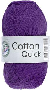 "GRÜNDL Strickgarn ""Cotton Quick"" 50g lila"