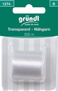 GrÜNDL Nähgarn 200 m transparent
