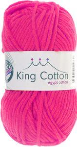 "GRÜNDL Wolle ""King Cotton"" 50g pink"