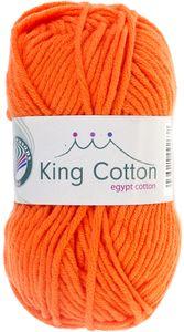 """GRÜNDL Wolle """"King Cotton"""" 50g orange"""
