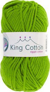 """GRÜNDL Wolle """"King Cotton"""" 50g apfelgrün"""
