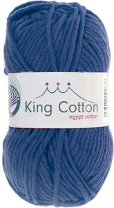 "GRÜNDL Wolle ""King Cotton"" 50g jeansblau"
