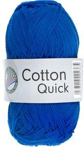 """GRÜNDL Strickgarn """"Cotton Quick"""" 50g royalblau"""