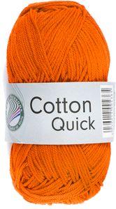 """GRÜNDL Strickgarn """"Cotton Quick"""" 50g orange"""