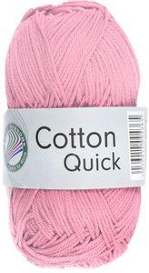 "GRÜNDL Strickgarn ""Cotton Quick"" 50g rosa"