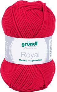 """GRÜNDL Wolle """"Royal"""" 50g rot"""