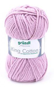 "GRÜNDL Wolle ""King Cotton"" 50g rose"