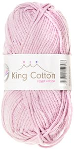 "GRÜNDL Wolle ""King Cotton"" 50g rose"