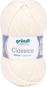 "GRÜNDL Wolle ""Classico"" 50g creme"