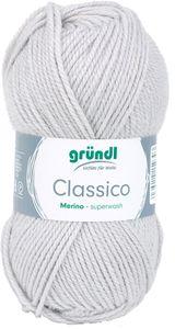 """GRÜNDL Wolle """"Classico"""" 50g hellgrau"""