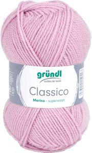 "GRÜNDL Wolle ""Classico"" 50g rose"