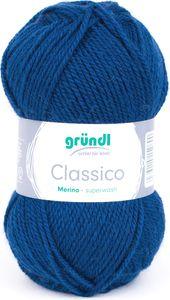 """GRÜNDL Wolle """"Classico"""" 50g marineblau"""