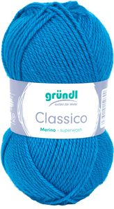 "GRÜNDL Wolle ""Classico"" 50g enzian"