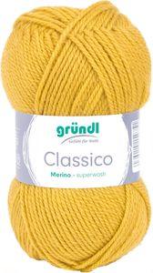 "GRÜNDL Wolle ""Classico"" 50g maisgelb"
