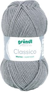 "GRÜNDL Wolle ""Classico"" 50g anthrazit"