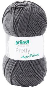 """GRÜNDL Wolle """"Pretty"""" 100g anthrazit"""