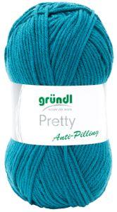 """GRÜNDL Wolle """"Pretty"""" 100g petrol"""