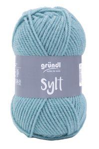 """GRÜNDL Wolle """"Sylt"""" 100g hellblau"""