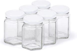 Einmachglas mit Deckel 110 ml 6 Stück