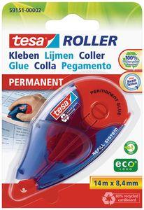 TESA Kleberoller permanent 14 m x 8,4 mm