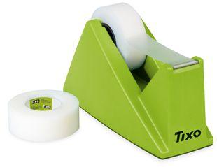 "TIXO Tischabroller ""King"" 19 mm x 33 m grün"