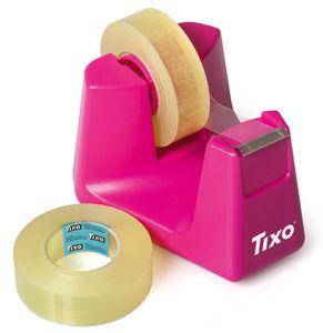 "TIXO Tischabroller ""Princess"" 33 m x 15 mm pink"