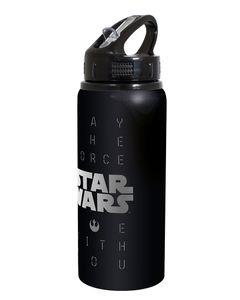 """Kindertrinkflasche """"Star Wars"""" 600 ml schwarz"""