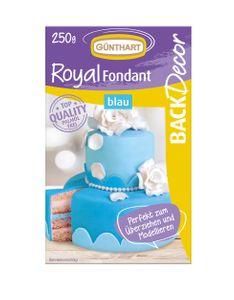 "GÜNTHART Rollfondant ""Pastell"" 250g blau"