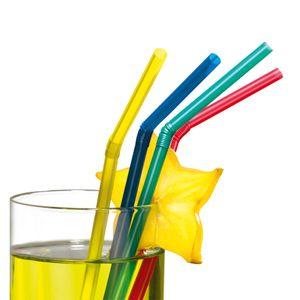 Trinkhalme 50 Stück mehrere Farben