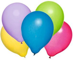 Luftballons 25 Stück mehrere Farben