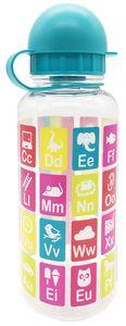 """Trinkflasche """"Anlauttabelle"""" aus Tritan 350 ml bunt"""