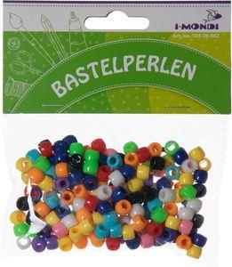I-MOND Perlen aus Kunststoff 8 mm mehrere Farben