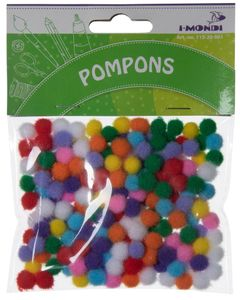 I-MONDI Pompons 10 mm 200 Stück