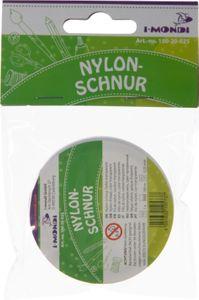 I-MONDI Nylonschnur 100 m transparent