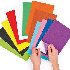 BAKER ROSS Filzbögen selbstklebend 18 Stück mehrere Farben
