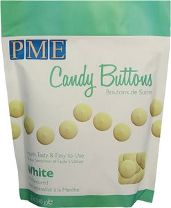 PME Candy Buttons 340 g weiss