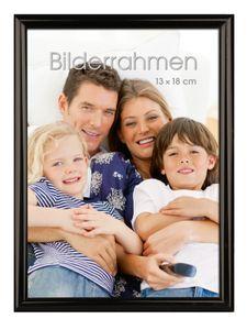 """INTERTRADING Bilderrahmen """"Vienna"""" 13 x 18 cm schwarz"""